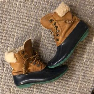 "SPERRY for J.CREW ""Shearwater"" winter/rain boots"